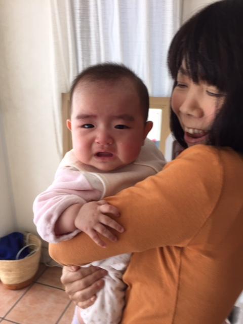 赤ちゃんの涙はとても純粋[!!]️